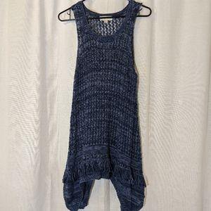 Knox Rose Crochet Knit Dress Sz 1